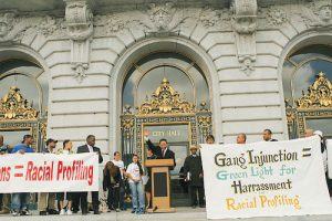 Jeff-Adachi-speaks-at-rally-against-gang-injunctions-071207-by-John-Han-Fog-City-Journal-300x200, More police, criminalization and gang suppression will not end homelessness in San Francisco, Local News & Views