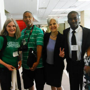 Laura-Wells-Bruce-Dixon-Jill-Stein-Elijah-Manley-at-2016-Green-Party-Convention-Houston-web-300x300, Running Green in D13: Tax the rich and stop the wars, Local News & Views