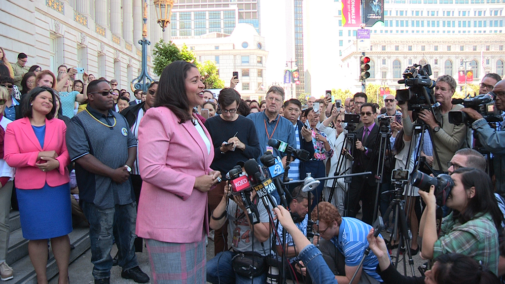 London-Breed-claims-victory-in-San-Francisco-mayor's-race-061318-by-Johnnie-Burrell-web, Black is back in San Francisco! Welcome back, Mayor London Breed, Local News & Views