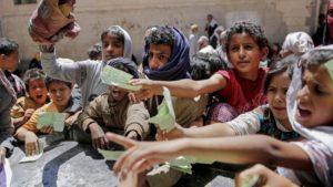 Yemeni-children-reach-for-food-rations-Sanaa-0417-by-Hani-Mohammed-AP-300x169, No love for Yemen?, World News & Views