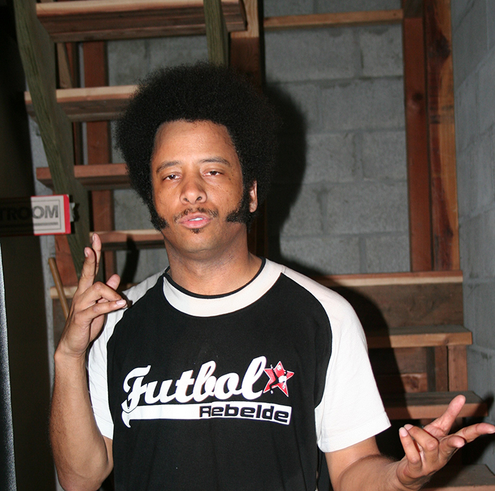 Boots-Riley-by-JR-web-cropped, At Oakland Book Festival, Boots Riley discusses new film 'Sorry to Bother You', Culture Currents
