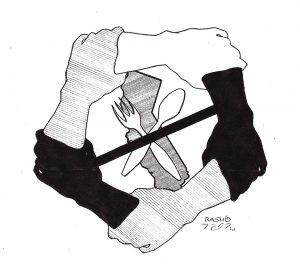 California-hunger-strike-logo-art-by-Rashid-2011-web-300x280, Back to Red Onion State Prison: Rashid's return to the original scene of criminal abuse, Behind Enemy Lines