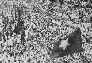 Crowd-listens-to-Vietnamese-President-Ho-Chih-Minh-declare-independence-Ba-Din-Square-090245-300x207, What to Viet Nam is our 4th of July? Rethinking Burns & Novick's documentary, Part 1, World News & Views
