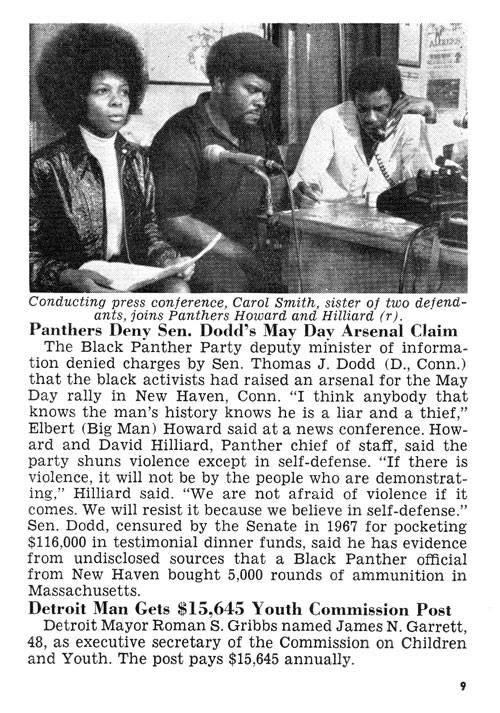 Elbert-Big-Man-Howard-Carol-Smith-David-Hilliard-in-Jet-Magazine-052170, Rest in power, Elbert 'Big Man' Howard, founding father of the Black Panther Party, World News & Views
