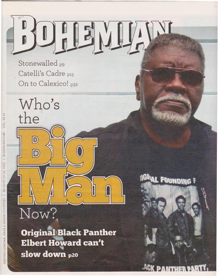 Elbert-Big-Man-Howard-cover-pic-story-081011-Bohemian, Rest in power, Elbert 'Big Man' Howard, founding father of the Black Panther Party, World News & Views