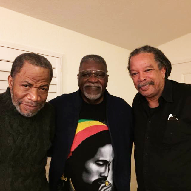 James-Bubber-Young-Elbert-Big-Man-Howard-Steve-Long-at-Big-Man-Caroles-home-shortly-before-BPP-50th-1016, Rest in power, Elbert 'Big Man' Howard, founding father of the Black Panther Party, World News & Views
