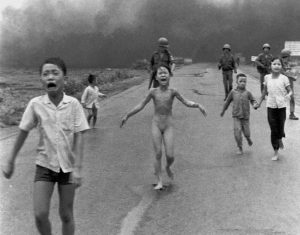 Kim-Phuc-clothes-torn-off-flees-napalm-attack-Viet-Nam-060872-by-Huynh-Cong-'Nick'-Ut-AP-300x235, What to Viet Nam is our 4th of July? Rethinking Burns & Novick's documentary, Part 1, World News & Views