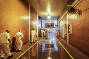 New-fans-installed-in-Darrington-Unit-Texas-0718-by-Jolie-McCullough-Texas-Tribune-300x201, Deadly extreme heat and deliberate indifference inside Texas prisons, Behind Enemy Lines