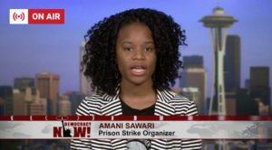Amani-Sawari-on-Democracy-Now-082118-300x166, Nationwide Prison Strike, Day 2, Behind Enemy Lines