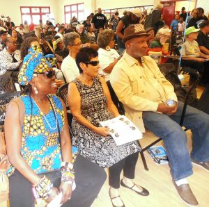 Big-Mans-Memorial-Kujichagulia-Carole-Emory-crowd-Bobby-Hutton-Fieldhouse-082518-by-Jahahara-web-300x298, Reminiscing, and acting, this September!, Culture Currents