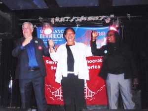 Democratic-Socialists-of-America-rally-for-progressive-candidates-Tony-Kelley-SF10-Cat-Brooks-Oakland-mayor-Jovanka-Beckles-Assembly-Dist-15-0818-by-Jahahara-web-300x225, Reminiscing, and acting, this September!, Culture Currents