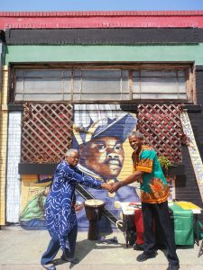 Marcus-Garvey's-birthday-Mama-Afua-Baba-Curtis-celebrate-Marcus-Books-Oakland-0818-by-Jahahara-web-225x300, Reminiscing, and acting, this September!, Culture Currents