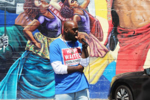 Nia-Wilson's-cousin-speaks-at-protest-072618-Oakland-by-Sydney-Shaw-web-300x200, Nia Wilson, say her name! Blacks do not need a second slavery, Local News & Views