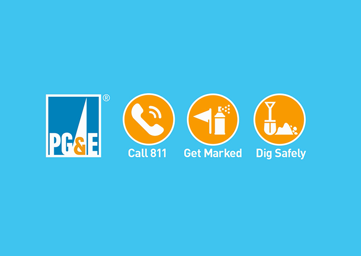PGE-811-graphic, Call before you dig, Opportunities