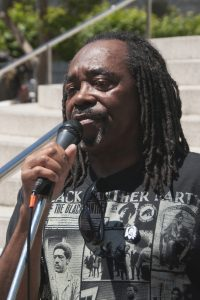Richard-Brown-speaks-hunger-strike-solidarity-rally-California-State-Bldg-SF-070111-by-Revolution-Newspaper-200x300, Celebration of the Life of Richard Brown, Culture Currents