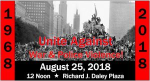 Unite-Against-War-Police-Violence-Chicago-082518-poster-300x162, Lansing and Chicago on the march as National Prison Strike grows, Behind Enemy Lines