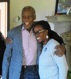 Danny-Glover-Jovanka-Beckles-hug-at-campaign-brunch-092318-by-Ben-Schiff-web-271x300, Race and cash in the Assembly 15 campaign: Jovanka Beckles breaks the mold, Local News & Views