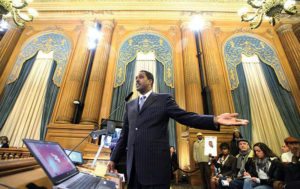 Min.-Christopher-Muhammad-speaks-to-SF-Board-of-Supervisors-011216-by-Ekevara-Kitpowsong-SF-Examiner-300x189, Hands off SF's Sunshine Ordinance: Privacy proponents urge No on Prop B, Local News & Views