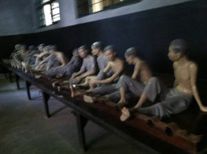 Under-French-colonialism-Vietnamese-prisoners-shackled-to-bench-sit-in-own-waste-for-months-or-years-web-1-300x224, Missouri prisoners protesting ad-seg restrictions in run-up to National Prison Strike shackled to iron bench, Behind Enemy Lines