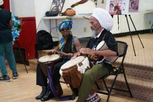 Big-Mans-Memorial-Kujichagulia-Val-Serrant-drumming-at-Lil-Bobby-Hutton-Park-082518-300x200, Elbert 'Big Man' Howard's Black Panther Memorial marks history, Culture Currents