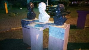 Busts-of-Leslie-Henry-governor-Selles-Williams-Black-men-founders-of-Cahuita-City-Limon-Costa-Rica-web-300x169, Parallels between national strikes, from prisoners in the US to teachers in Costa Rica, World News & Views