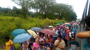 Costa-Rica-national-teachers-strike-Strikers-turtling-on-the-roadway-alongside-public-transit-0918-web-300x169, Parallels between national strikes, from prisoners in the US to teachers in Costa Rica, World News & Views