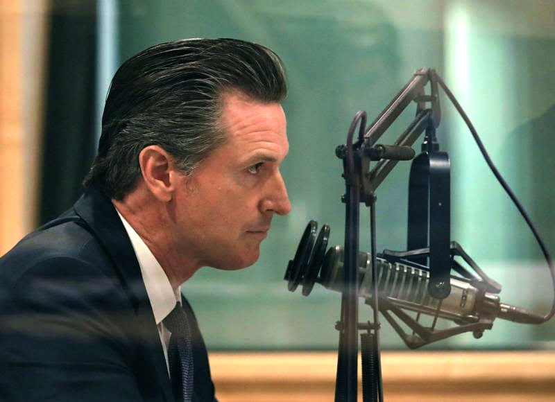 Gavin-Newsom-interviewed-on-air, What politicians, the Navy and the EPA don't want you to know: Treasure Island and Hunters Point are equally toxic Superfund sites, Local News & Views