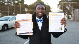 HBCU-Fair-Iheem-Antone-admitted-to-Smith-Florida-Memorial-at-Mission-HS-091018-by-Don-Bowden-web-300x168, Hundreds of students at HBCU Fair gain sense of hope and head start for college admissions, Local News & Views