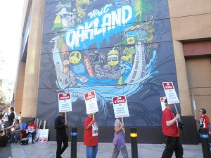 Marriott-workers-on-strike-in-front-of-Visit-Oakland-mural-1018-by-Jahahara-web-300x225, Mos def sumthin-sumthin to vote for!, Culture Currents