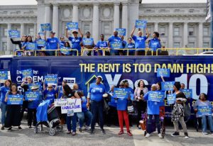 Rent-Is-Too-Damn-High-Bus-Tour-rally-at-SF-City-Hall-100218-by-Patrick-Range-McDonald-300x206, 'Yes on Prop 10,' says Danny Glover, National News & Views