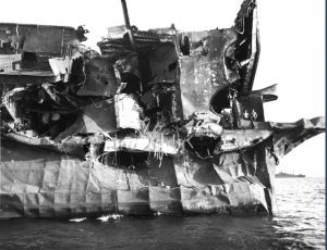 USS-Independence-after-A-bomb-blast-damage-radioactive-contamination-–-two-sailors-at-right-by-NARA-300x230, New reports show the entire Hunters Point Shipyard, one of the most toxic sites in the US, is likely to be radioactively contaminated, Local News & Views