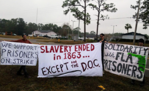 National-Prison-Strike-banners-in-Florida-We-support-prisoners-on-strike-2018-300x184, Outside support grows as prison resistance continues with ongoing strikes and prisoner-led initiatives, Behind Enemy Lines