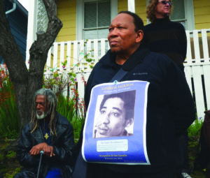Occupy-San-Quentin-Elder-Freeman-Melvin-Dickson-022012-3-by-Bill-Hackwell-300x255, In honor of beloved elder Melvin Dickson, 1940-2018, publisher of The Commemorator, Culture Currents