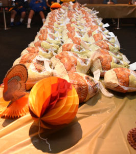 Table-full-of-turkeys-at-Turkey-Day-at-Fillmore-Heritage-Center-112018-by-Johnnie-Burrell-web-266x300, Fillmore Heritage Center reopens with focus on community equity, Culture Currents