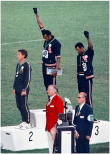 1968-Olympics-Mexico-City-200-meter-dash-Peter-Norman-silver-Australia-Tommie-Smith-gold-John-Carlos-bronze-officials-in-front-1068-215x300, About Jamil Al-Amin (H. Rap Brown) and the 1968 Olympic protest: An interview with Dr. Harry Edwards, World News & Views