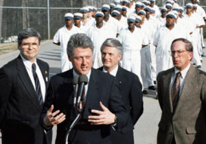 Bill-Clinton-at-Stone-Mountain-Correctional-Facility-Georgia-1992-launching-'Tough-on-Crime'-bill-web-300x209, After Dems' crime bill, they now need super predators' votes to survive, National News & Views