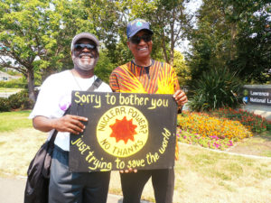 Hiroshima-Memorial-Day-2018-Jahahara-Fritz-Pointer-protest-at-Livermore-nuclear-lab-080618-web-300x225, Commemorating 60 Years of Building Pan African Unity!, Culture Currents