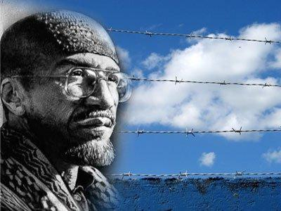 Imam-Jamil-Al-Amin-behind-barbed-wire-graphic, About Jamil Al-Amin (H. Rap Brown) and the 1968 Olympic protest: An interview with Dr. Harry Edwards, World News & Views