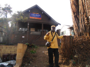 Jahahara-in-front-of-former-home-369-MacArthur-Oakland-evicted-by-Trumpites-2016-web-300x225, Commemorating 60 Years of Building Pan African Unity!, Culture Currents