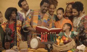 Kwanzaa-extended-family-300x178, Wanda's Picks for December 2018, Culture Currents
