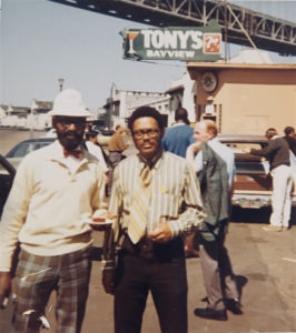 Longshoremen-George-Carter-and-George-Donald-Porter-circa-1965-266x300, View from the Shipyard, Local News & Views