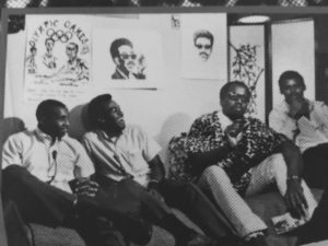 Olympic-Project-for-Human-Rights-first-meeting-with-Tommie-Smith-Lee-Evans-Harry-Edwards-James-Edwards-at-San-Jose-State-1267-Rap-drawings-on-wall-300x225, About Jamil Al-Amin (H. Rap Brown) and the 1968 Olympic protest: An interview with Dr. Harry Edwards, World News & Views