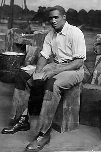 Paul-Robeson-in-the-Broadway-musical-Show-Boat-200x300, About Jamil Al-Amin (H. Rap Brown) and the 1968 Olympic protest: An interview with Dr. Harry Edwards, World News & Views