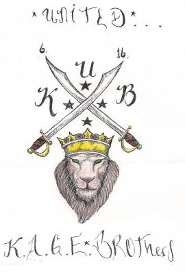 United-KAGE-Brothers-coat-of-arms, Goals of California participants in National Hunger Strike, Behind Enemy Lines