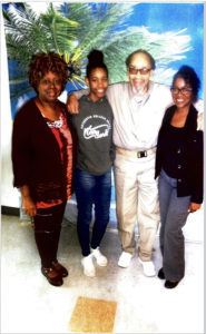 Visiting-Veronza-Carol-King-Lei'Lani-White-Veronza-Bowers-Domita-White-110318-web-185x300, My divine connection with the great Veronza Bowers, Behind Enemy Lines