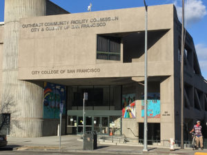 City-College-Southeast-Campus-1800-Oakdale-entrance-1218-by-Arlene-Kimata-web-300x225, Trust SFPUC to keep promises to mitigate sewage treatment harm? BVHP community won 1800 Oakdale so why move to Evans?, Local News & Views