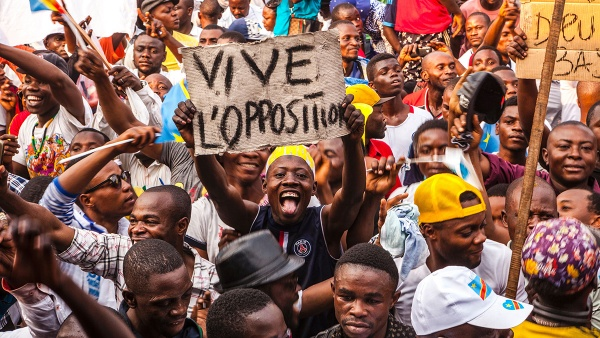 DRC-election-rally-Vive-LOpposition, DR Congo post-election: An interview with Maurice Carney, World News & Views