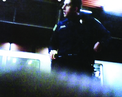 Oscar-Grant-Mehserle-trial-Oscars-cell-phone-pic-of-Mehserle-pointing-taser-at-him-provided-by-LA-Superior-Ct, A celebration of the Justice for Oscar Grant protesters, Local News & Views