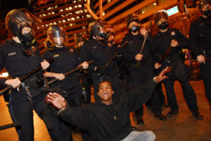 Oscar-Grant-rebellion-white-cops-Black-protester-010709-by-Jay-Finneburgh-IndyBay-web-300x201, A celebration of the Justice for Oscar Grant protesters, Local News & Views
