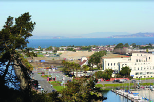 View-of-Treasure-Islands-affluent-end-from-Yerba-Buena-Island-winter-2018-by-Sam-Moore-S.-Auden-web-300x199, San Francisco irradiates the poor on Treasure Island, Local News & Views